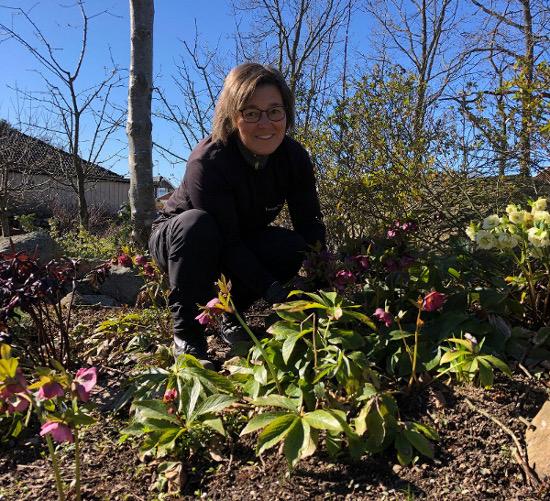 Trädgårdshjälp med Trädgårdsmästare Anna