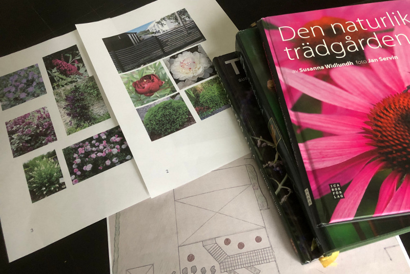 Trädgårdshjälp, tips och ideér för trädgården